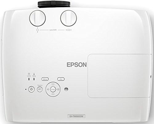 Bild 63: Epson EH-TW6100 3D Heimkino 3LCD-Projektor (Full HD 1080p, 2.300 Lumen Weiß & Farbhelligkeit, 40.000:1 Kontrast, 2x HDMI (1x MHL), inkl. 1x 3D Brille) schwarz