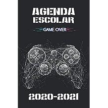 Agenda escolar 2020 -2021: Especial para jugadores con ilustraciones, citas e iconos, ideal para estudiantes de secundaria y preparatoria.