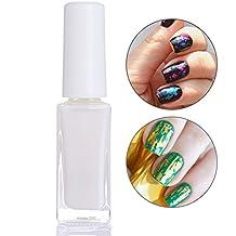 coulorbuttons 10 ml Clear Lámina de uñas pegamento adhesivo Star pegamento para uñas papel de transferencia