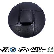 Greenway negro 3A 250VAC encendido Cable Línea Rocker botón interruptor de pie
