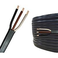 10m Auprotec® Flachkabel 3 adriges Elektrokabel Anhängerkabel 3 x 1,5 mm²