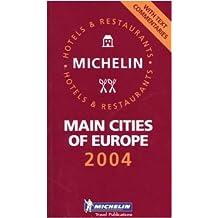 Michelin Europe Main Cities 2004
