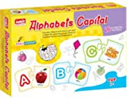 Ankit Alphabet Capital Puzzle-Early Learning Capital Alphabets for kids.