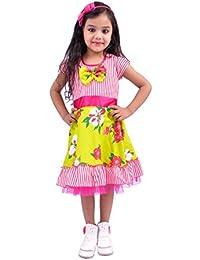 Kilkari Girls' Knee Length Dress.