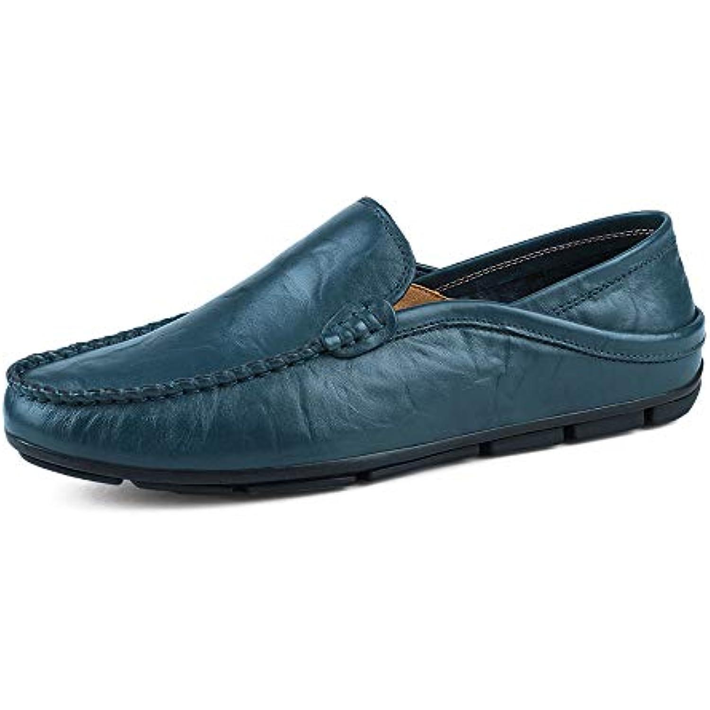 Yajie-Chaussures, Mocassins Souples et Super l la eacute;gers agrave; la l Mode Masculine Color : Bleu, Taille : 44 EU - B07J46JNFB - 604f14