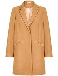 Anastasia Women's Wool Slim Crombie Winter Coat