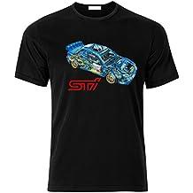 SUBARU IMPREZA GD STI WRX WRC McRae Mäkinen Solberg Fan T Shirt T-SHIRT