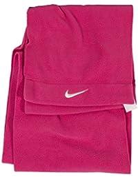 Nike Adult Unisex Men & Women Fleece Scarf One Size in Pink for Winter