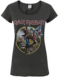 Amplified Women's Ironmaiden Trooper Short Sleeve T-Shirt