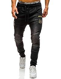 BOLF Pantalons de sport Jeans pantalons Street style Casual Homme 6F6