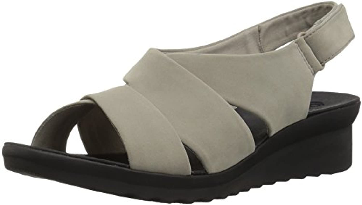 Clarks Wouomo Caddell Petal Platform, Sand Sand Sand Synthetic Nubuck, 9.5 Medium US | Nuovo