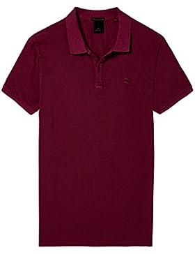 Scotch & Soda Classic Garment-Dyed Pique, Polo Para Hombre