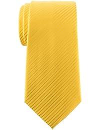 Retreez Men's Tie Necktie with Stripe Textured - Various Colors