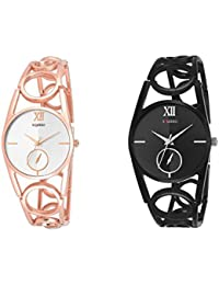 SQUIRRO TERRIFIC ROSE GOLD AND BLACK BEAUTY COMBO DESIGNED FOR GIRLS AND WOMENS