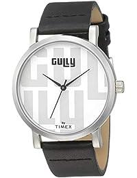 Gully by Timex Gully Analog White Dial Men's Watch-TWEG15434