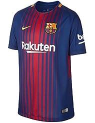Nike Fcb y Nk Brt Stad Jsy Ss Hm Maillot du FC Barcelone (matchs à domicile) pour enfant