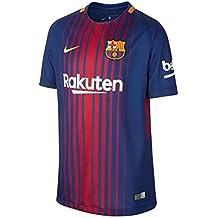 Nike FCB y NK BRT Stad JSY SS HM Camiseta 1ª Equipación Línea FC Barcelona, Niños, Azul (Deep Royal Blue / University Gold), XS