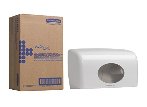 AQUARIUS 6992 Toilet Tissue Dispenser, Small, White