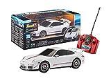 Revell Control 24660 RC Scale Car 1:24 Porsche 911 GT3 RS, 27MHz, originalgetreue Karosserie, Fahrlicht ferngesteuertes Auto, weiß, 18,5 cm