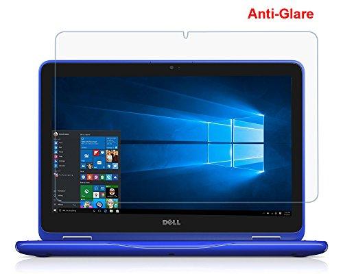 (2Pack) Dell 3168316929,5cm blendfrei Matt ganze Bildschirmschutzfolie Cover Skin für New Dell Inspiron 113000Serie 31683169i3168i31692-in-1-29,5cm Touchscreen Notebook (2016Release)