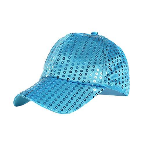 Syeytx Unisex Multicolor Outdoor Pailletten Farbe Baseball Caps Einstellbare atmungsaktive Mütze - Olive Nadelstreifen-anzug