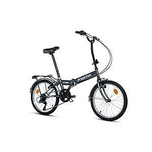 41k 04%2BWegL. SS300 Moma bikes, Pieghevole STREET Unisex adulto, Grigio, Unic Size