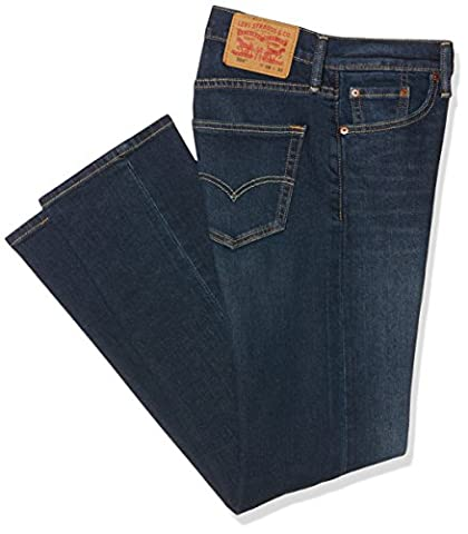 Levi's Herren Jeans 504 Regular Straight Fit, Blau (California Everlasting 533), W34/L34 (Strauß Denim)