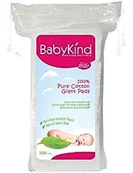BabyKind Watte-Pads, rechteckig, groß, 600Stück