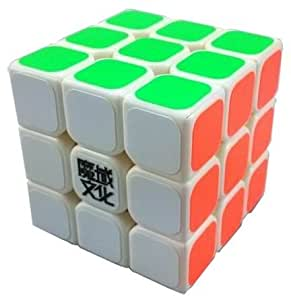 Mini Aolong 3X3X3 Speed Cube Puzzle . 54.5Mm Small Size White
