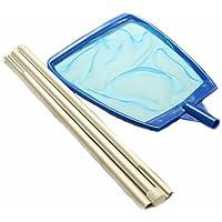 Duraol® Laubkescher mit 1,35m Aluminiumstange in blau