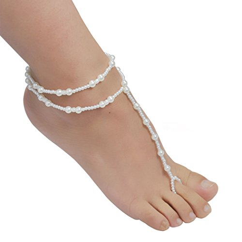 jane-stone-womens-beach-imitation-white-beads-barefoot-sandal-foot-jewelry-anklet-chain