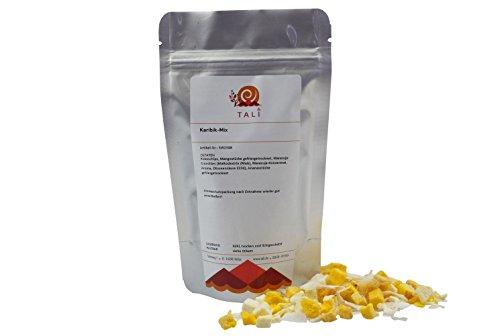 tali-karibik-mix-250-g-gefriergetrocknete-fruchte-ananas-mango-maracuja-und-kokos