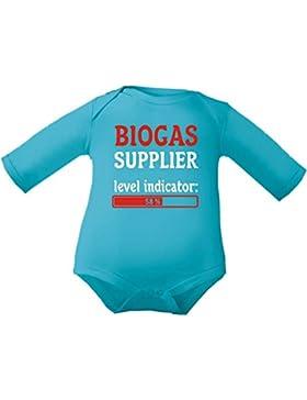 Kleiner Fratz Baby Body Jungen langarm Babybody Mädchen Biogas Supplier