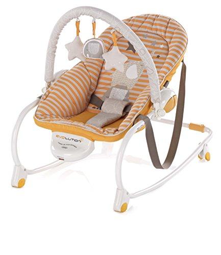 Jane modelo 6112 S39 hamaca bebe Evolution naranja