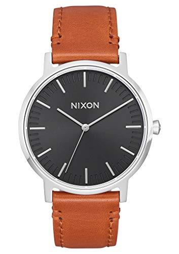 Nixon Mixte Analogique Quartz Montre avec Bracelet en Cuir A1199-1037-00