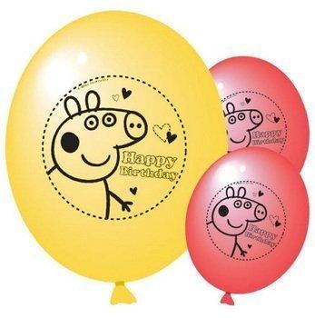 Peppa Pig globos de fiesta (paquete de 10)