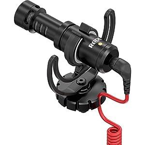 Rode VideoMicro Microfono Direzionale Compatto per fotocamere DSLR, Videocamere e registratori audio portatili, Nero