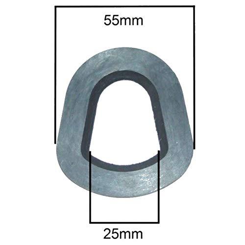 BMS Joint d'étanchéité en Caoutchouc 5, Convient aux jerrican ou Bec verseur en métal de 5, 10, 20 litres