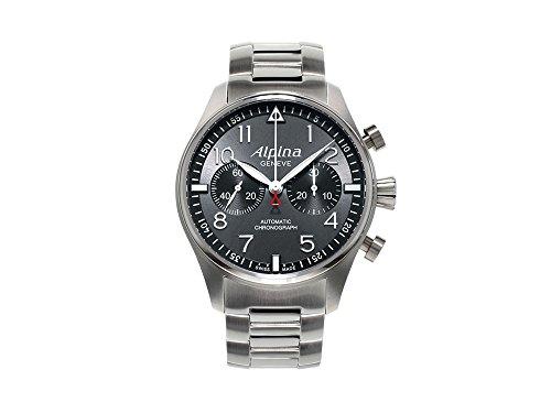 Alpina Geneve Startimer Chronograph AL-860GB4S6B Reloj para hombres Alpina Rotor