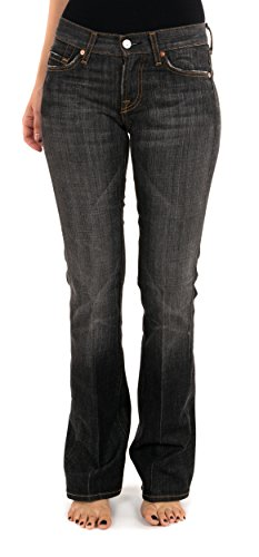 7-for-all-mankind-jeans-noir-delave-femme-w26-us-36-fr-neuf-us-26-fr-36