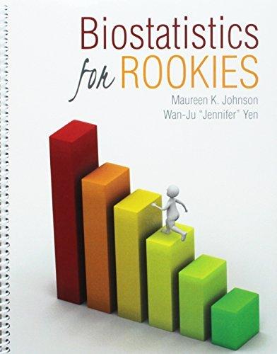 Biostatistics for Rookies by JOHNSON MAUREEN (2015-12-30) par JOHNSON MAUREEN;YEN WAN-JU