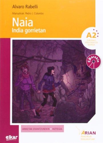 Naia india gorrietan (+ CDa) (Arian irakurgaiak) por Alvaro Rabelli Yanguas