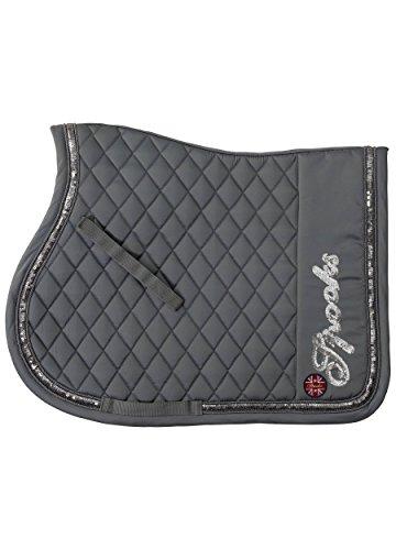 SPOOKS Schabracke Saddle Pad Verona grey