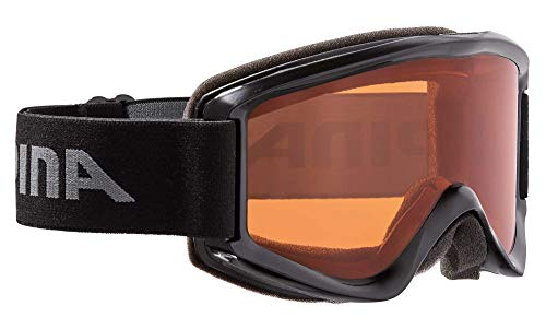 Alpina Skibrille Smash 2.0 Black SH orange Scheibe
