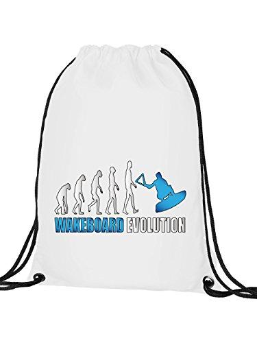 Golebros Wake board Evolution–Sacca, Adulti (unisex), Bianco/blu