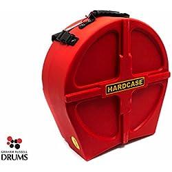 Hardcase HNL14SR FULLY LINED Version Snare Drum Case Red