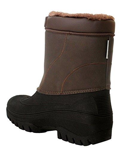 Groundwork - Stivali da ragazza' donna Brown