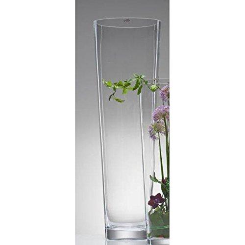 Sandra Rich Glasvase Bodenvase Dekoglas CONICAL konisch rund H 70cm D. 22cm Glas
