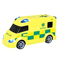 Teamsterz Large Light & Sound Ambulance   Kids Emergency Toy Medic Response Vehicle Great For Children Aged 3+