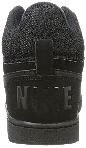 Nike Court Borough Mid, Scarpe da Basket Donna Nero (Black/black)